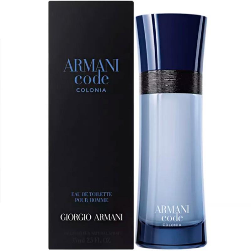 Armani Code Colonia Eau de Toilette Giorgio Armani - Perfume Masculino 125ml