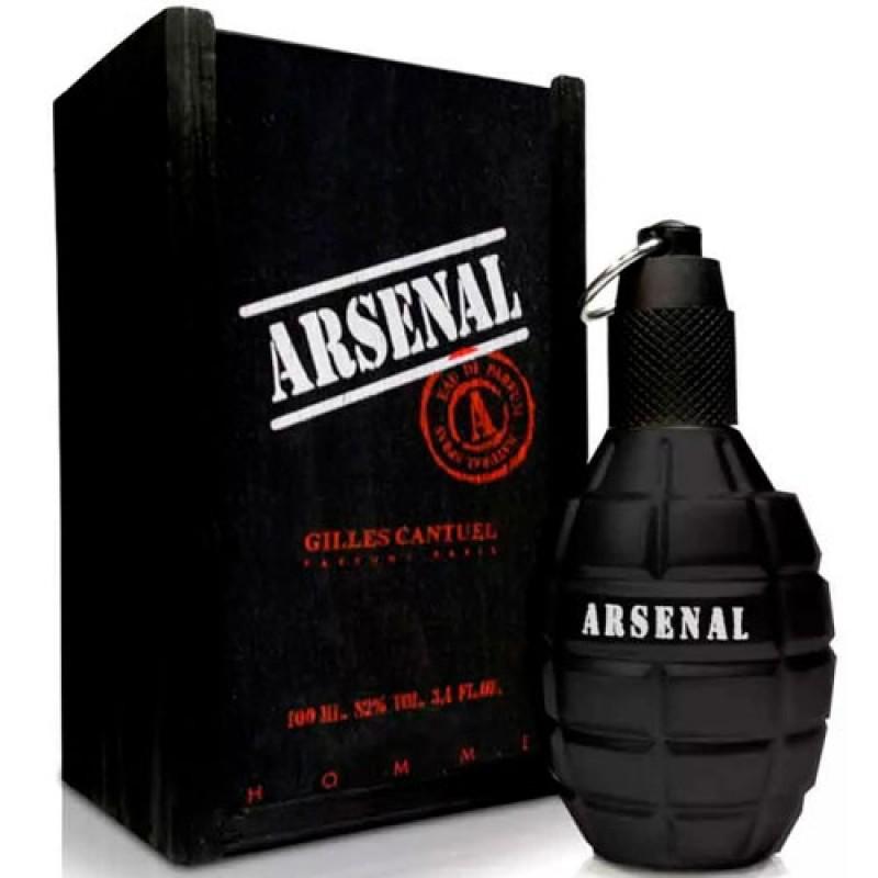 Arsenal Black Eau de Parfum - Perfume Masculino 100ml