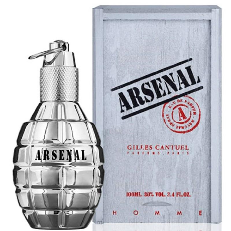 Arsenal Platinum Eau de Parfum - Perfume Masculino 100ml