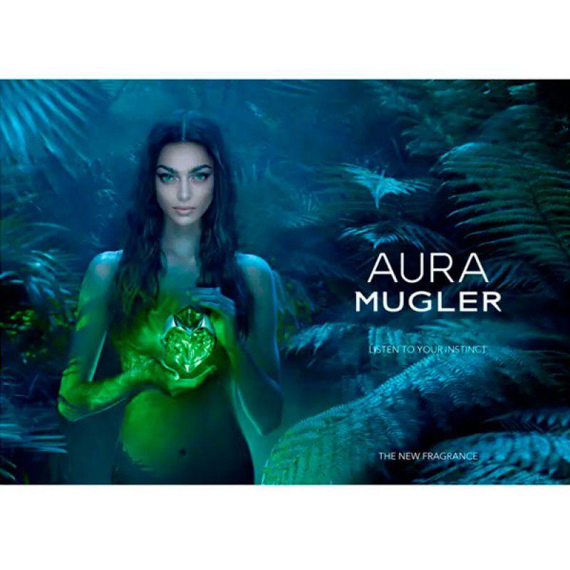 Aura Mugler Eau de Parfum Thierry Mugler - Perfume Feminino 90ml