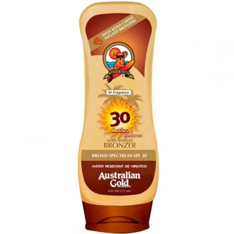 Australian Gold Kona Coffee Instant Bronzer FPS 30 - Protetor Solar 237ml
