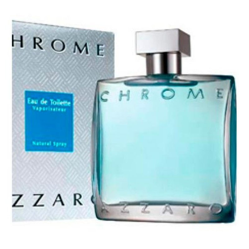 Azzaro Chrome Eau de Toilette Azzaro - Perfume Masculino 100ml