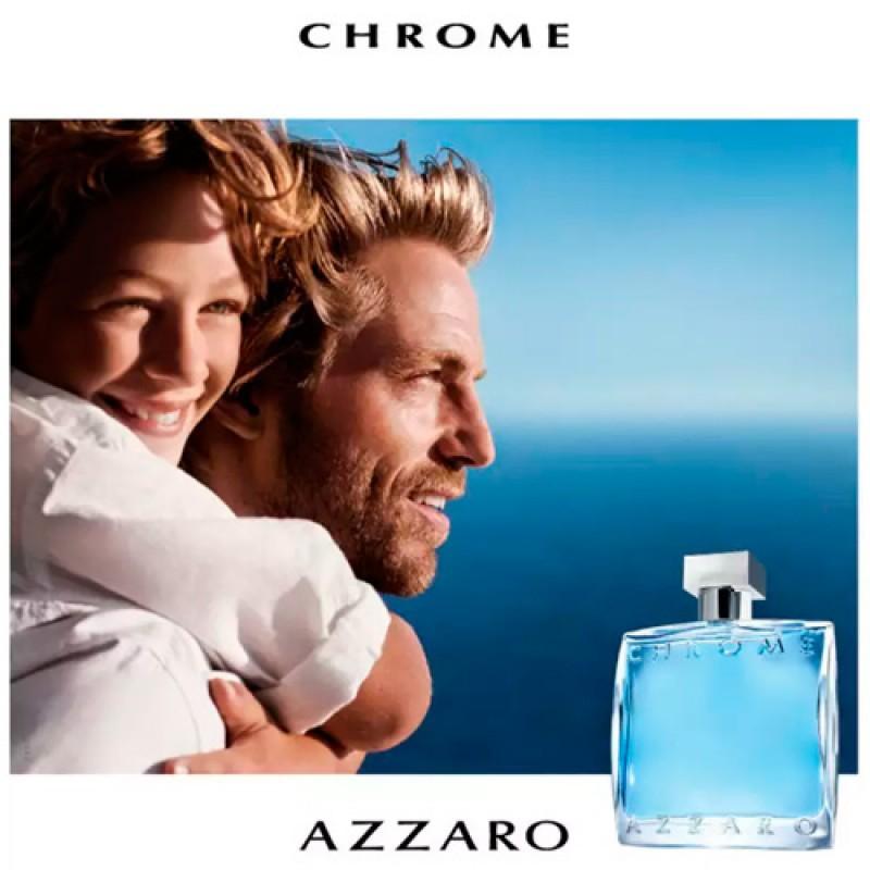 Azzaro Chrome Eau de Toilette Azzaro - Perfume Masculino 30ml