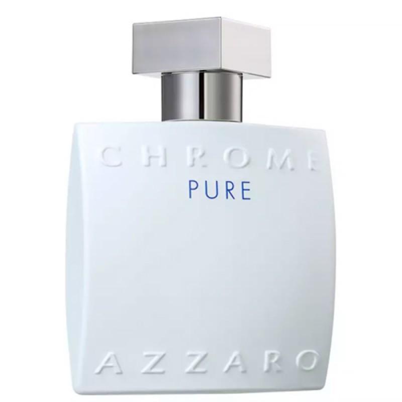 Azzaro Chrome Pure Eau de Toilette Azzaro - Perfume Masculino 100ml
