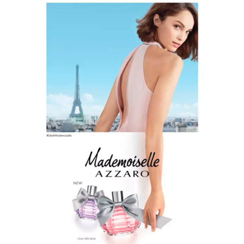 Azzaro Mademoiselle Eau de Toilette Azzaro - Perfume Feminino 30ml