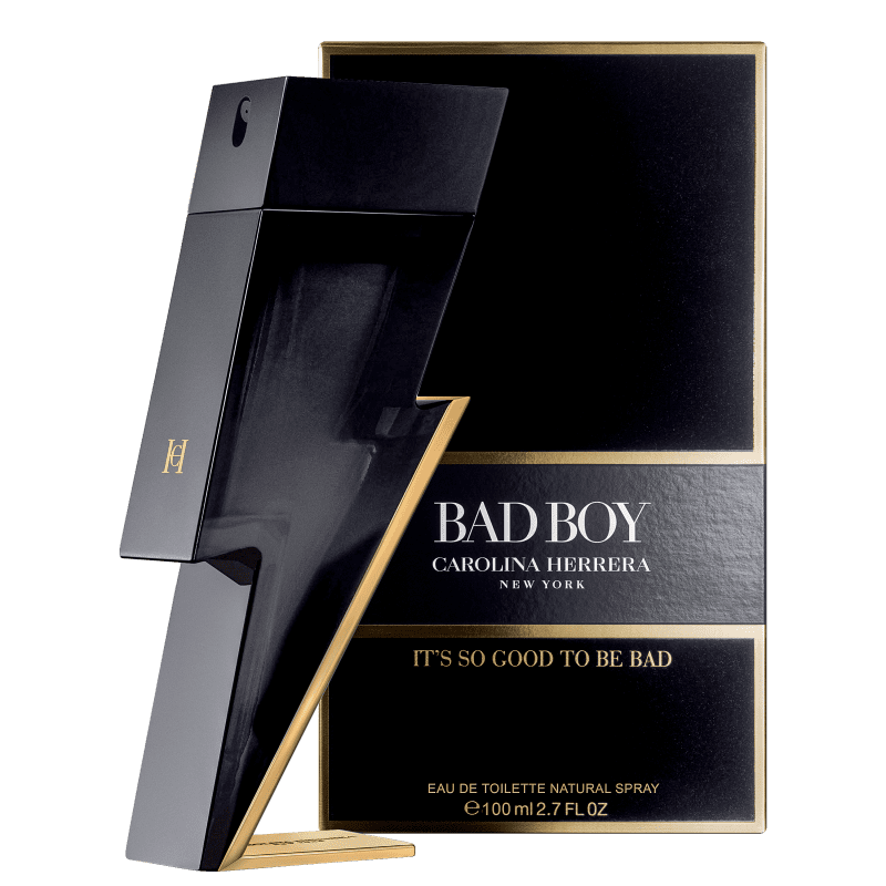 Bad Boy Eau de Toilette Carolina Herrera - Perfume Masculino 100ml