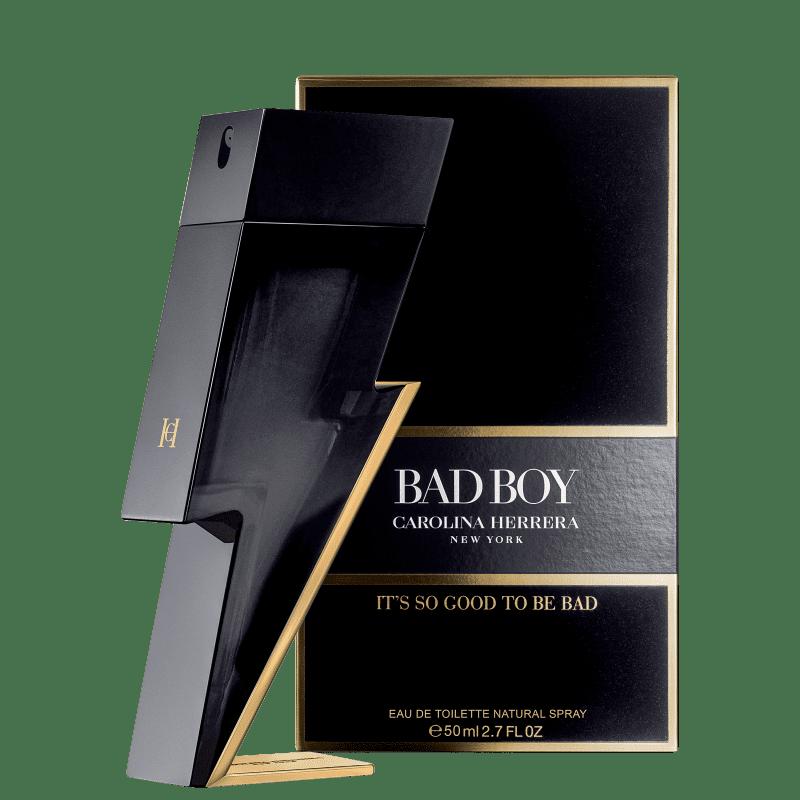 Bad Boy Eau de Toilette Carolina Herrera - Perfume Masculino 50ml