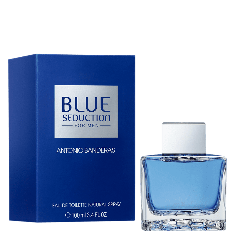 Blue Seduction Eau de Toilette Antonio Banderas - Perfume Masculino 100ml