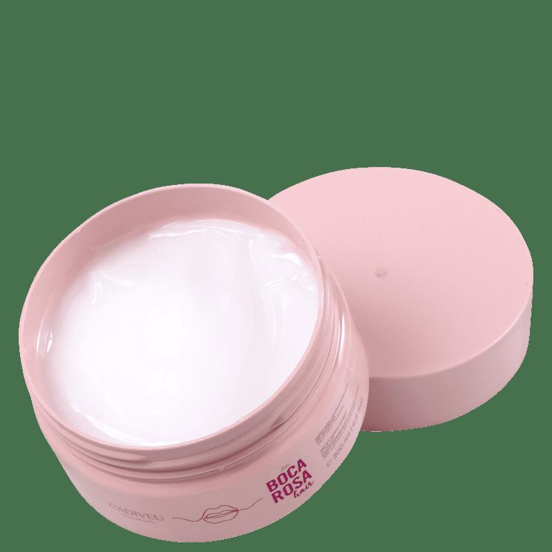 Boca Rosa Hair Máscara Condicionante de Quartzo Cadiveu Professional - Máscara Capilar 200ml