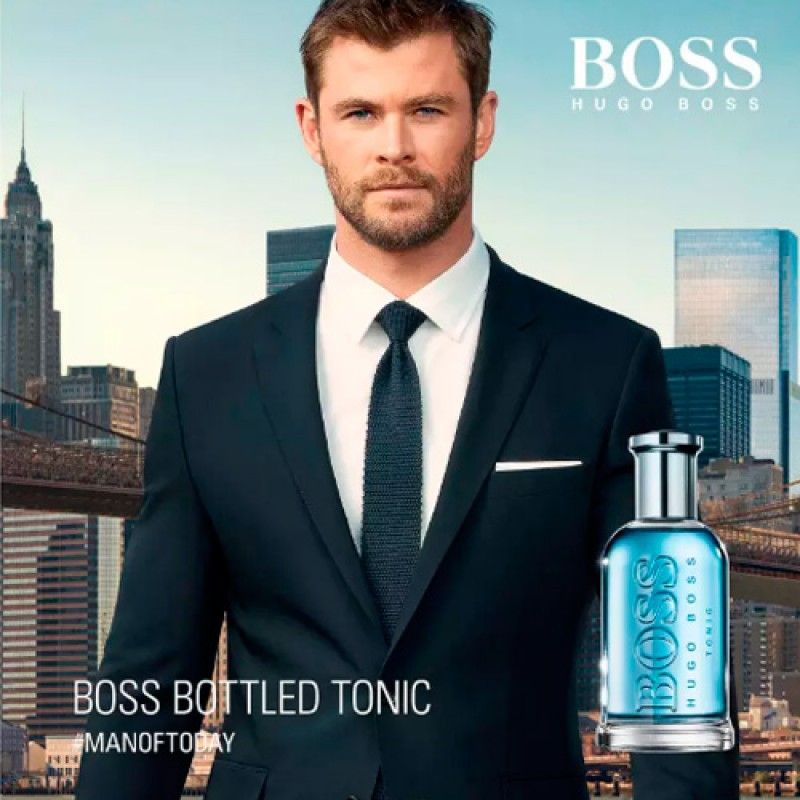 Boss Bottled Tonic Eau de Toilette Hugo Boss - Perfume Masculino 50ml