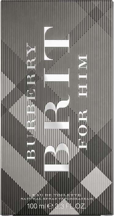 Burberry Brit For Him  Eau de Toilette Burberry  - Perfume Masculino 100ml