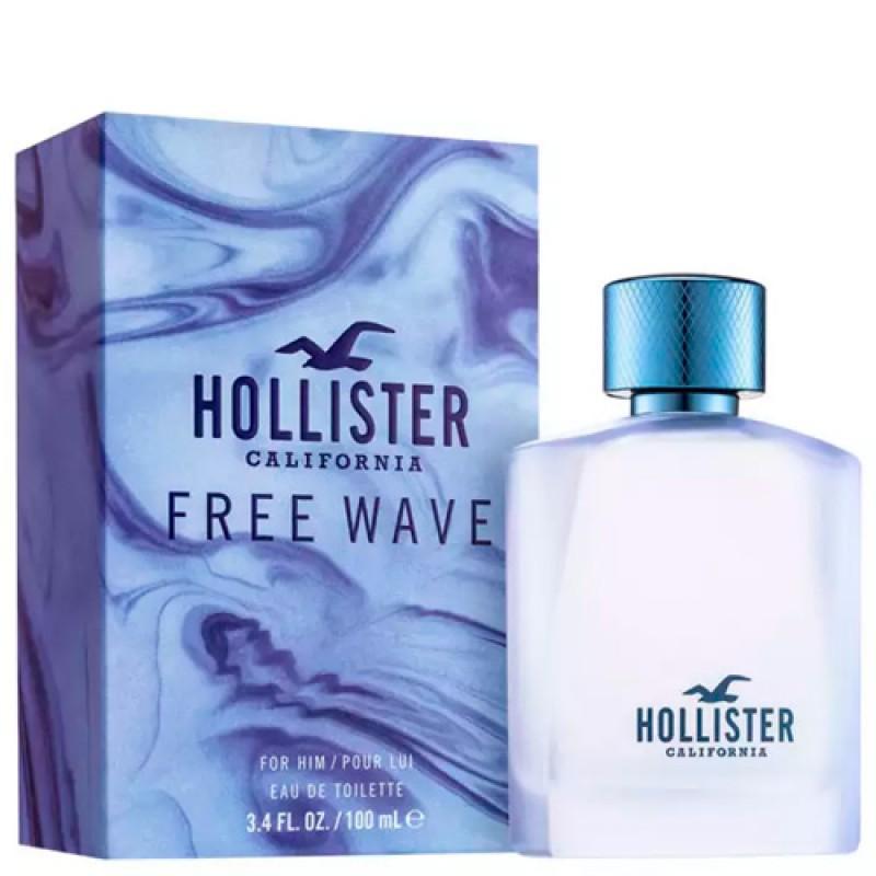 California Free Wave For Him Eau de Toilette Hollister  - Perfume Masculino 30ml