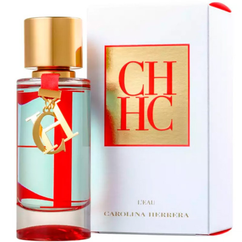 CH L'Eau Eau de Toilette Carolina Herrera - Perfume Feminino 50ml