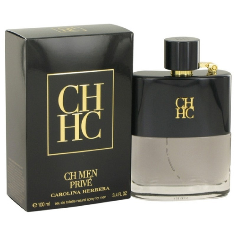 CH Men Privé Eau de Toilette Carolina Herrera - Perfume Masculino 100ml