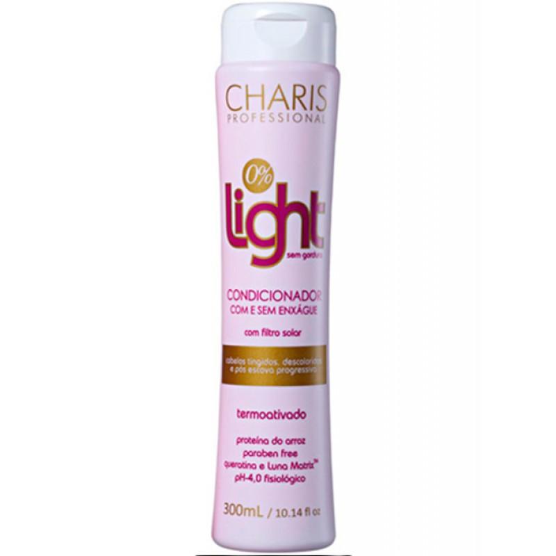 Charis Light Condicionador 3 em 1 Zero Gordura - 300ML