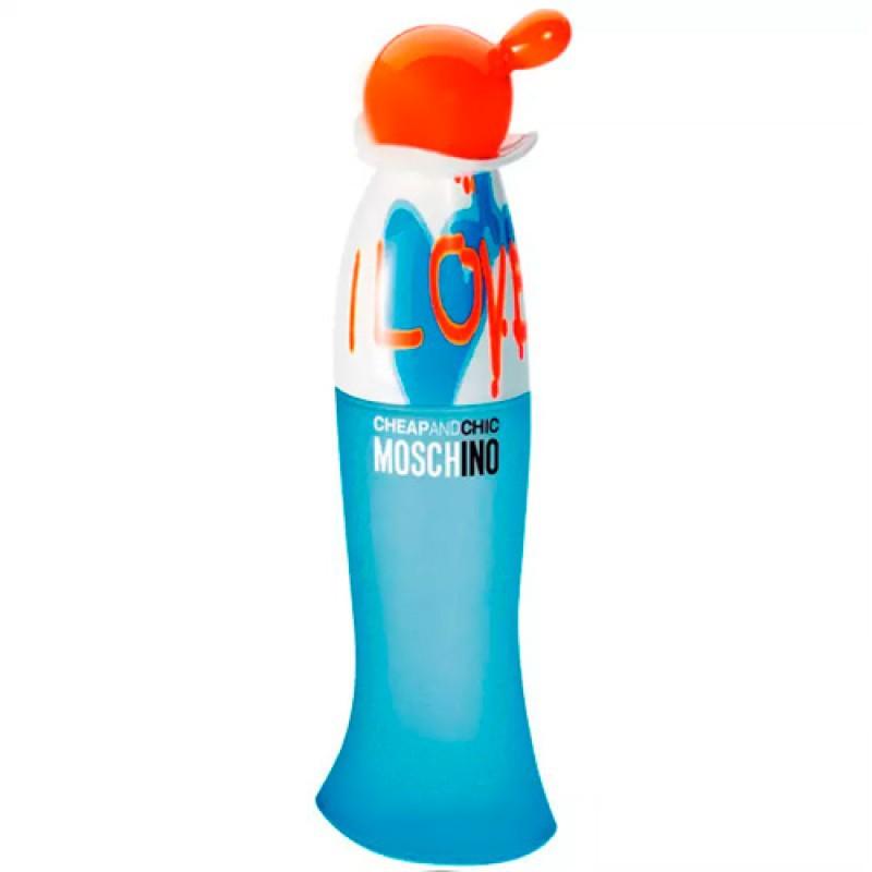 Cheap Chic I Love Love Eau de Toilette Moschino - Perfume Feminino 100ml