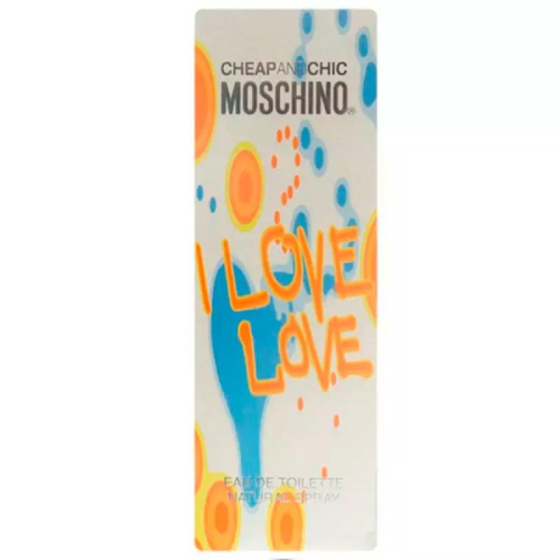 Cheap Chic I Love Love Moschino Eau de Toilette - Perfume Feminino 30ml