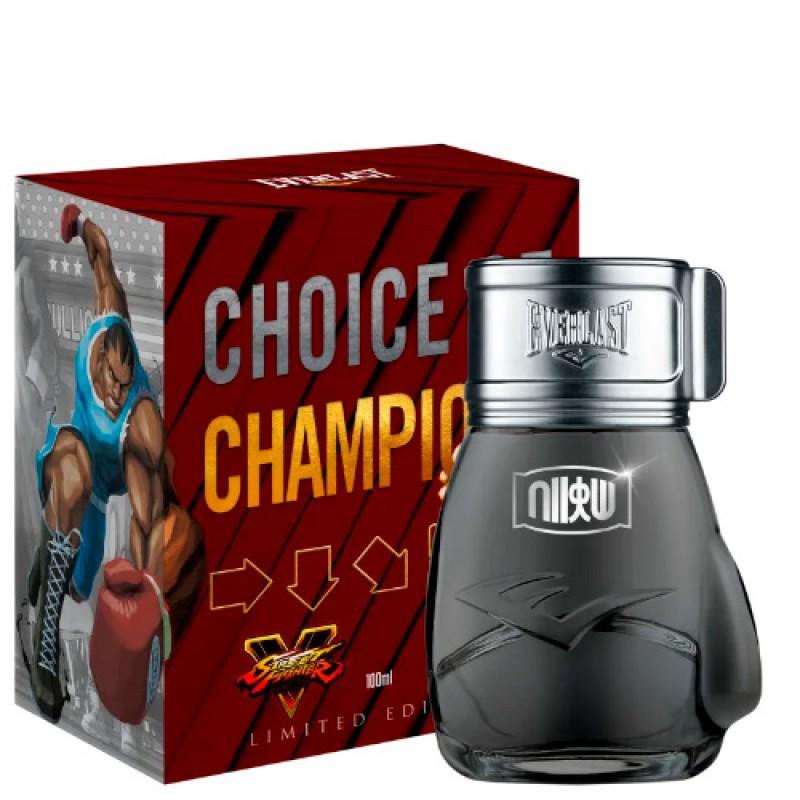 Choice Of Champions Street Fighter Shoryuken Deo Colônia Everlast a- Perfume Masculino 100ml