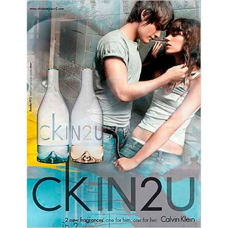 CK in2U For Her Eau de Toilette Calvin Klein - Perfume Feminino 50ml