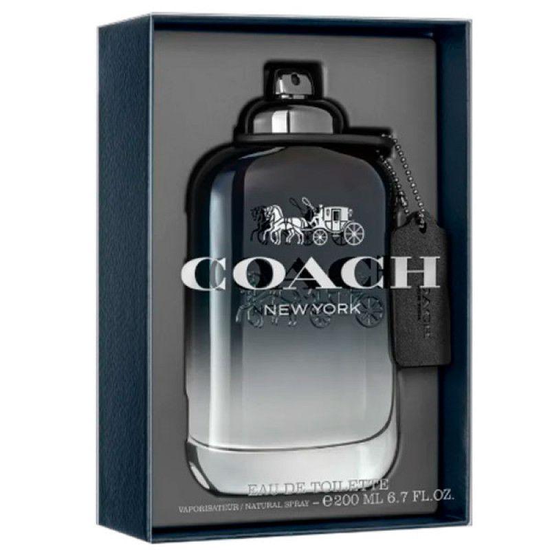 COACH Men Eau de Toilette Coach - Perfume Masculino 200ml