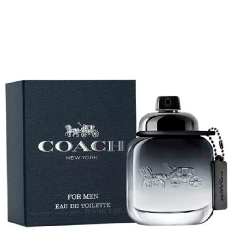 COACH Men Eau de Toilette Coach - Perfume Masculino 40ml
