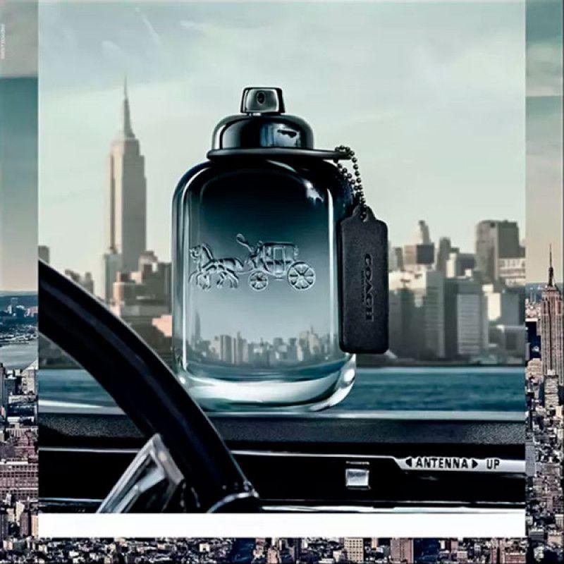 COACH Men Eau de Toilette Coach - Perfume Masculino 60ml