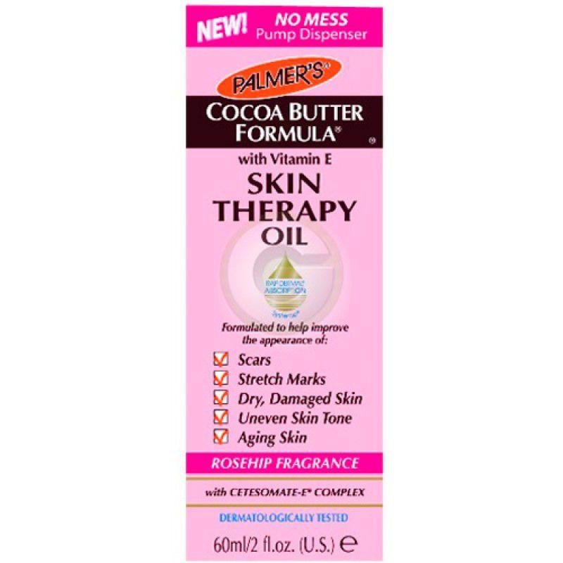 Cocoa Butter Skin Therapy Rosa Mosqueta - Óleo Multifuncional 60ml