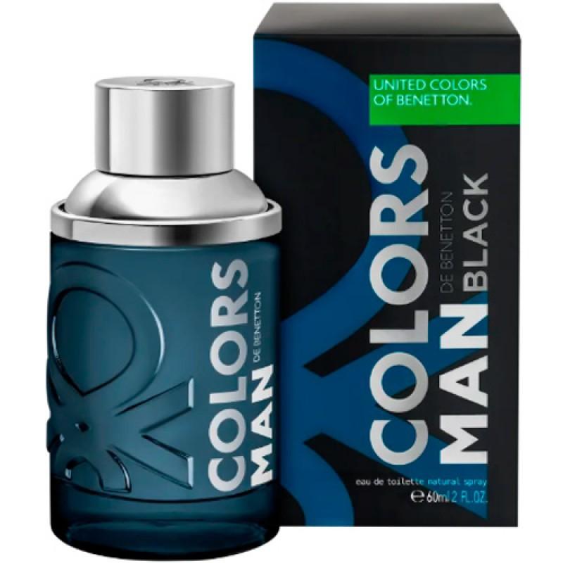 Colors Man Black Eau de Toilette Benetton - Perfume Masculino 100ml