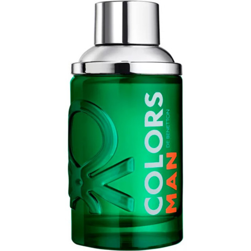 Colors Man Green Benetton Eau de Toilette - Perfume Masculino 60ml