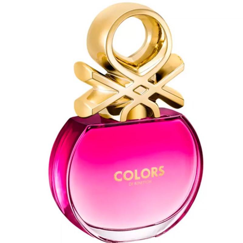 Colors Pink Benetton Eau de Toilette - Perfume Feminino 50ml