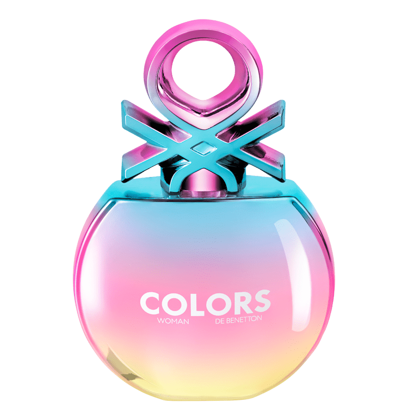 Colors Woman Holo Eau de Toilette Benetton - Perfume Feminino 80ml