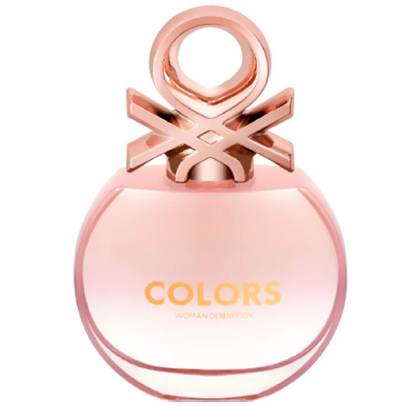 Colors Woman Rose Benetton Eau de Toilette - Perfume Feminino 80ml