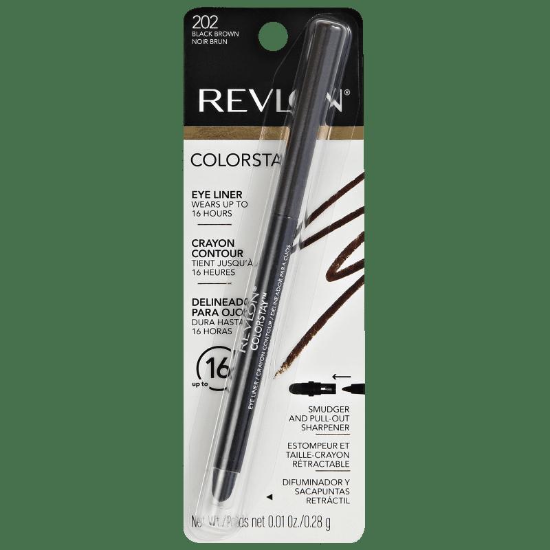 ColorStay Eyeliner Brown Revlon - Lápis de Olho