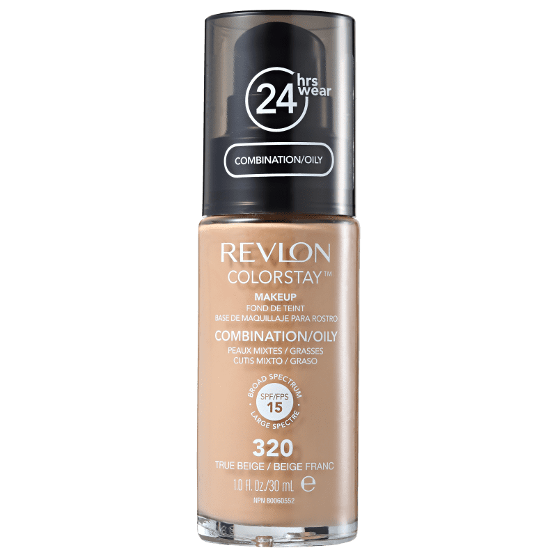 Colorstay Mista/Oleosa SPF15 Revlon - Base Facial 320 True Beige