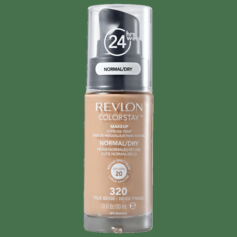 Colorstay Normal/Seca SPF20 Revlon - Base Facial 320 True Beige