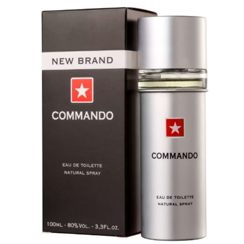 Commando New Brand Eau de Toilette - Perfume Masculino 100ml