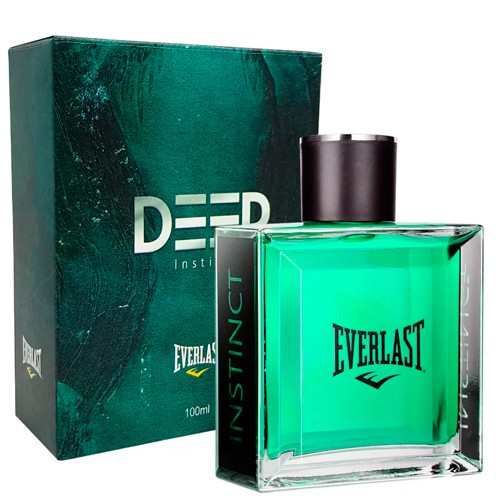 Deep Instinct Everlast Deo Colônia - Perfume Masculino 100ml