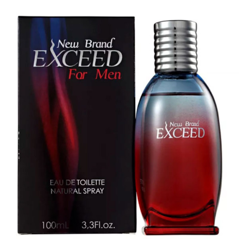 NEW BRAND EXCEED FOR MEN EDT 100ML