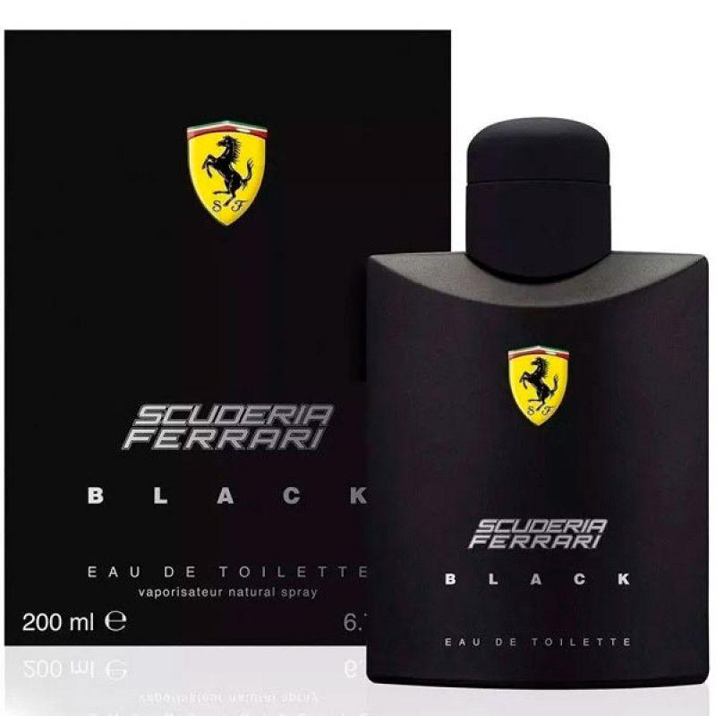 Ferrari Black Scuderia Eau de Toilette - Perfume Masculino 200ml