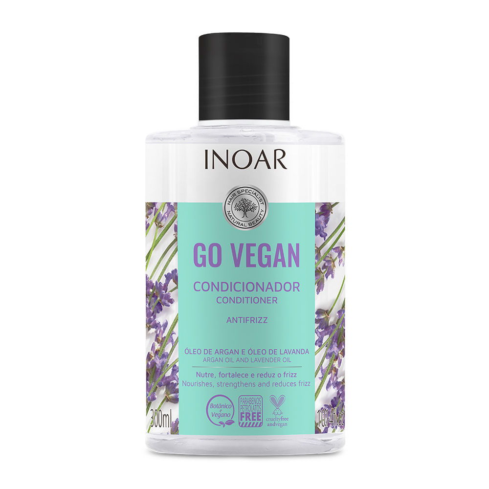 Go Vegan Inoar - Condicionador Antifrizz 300ml