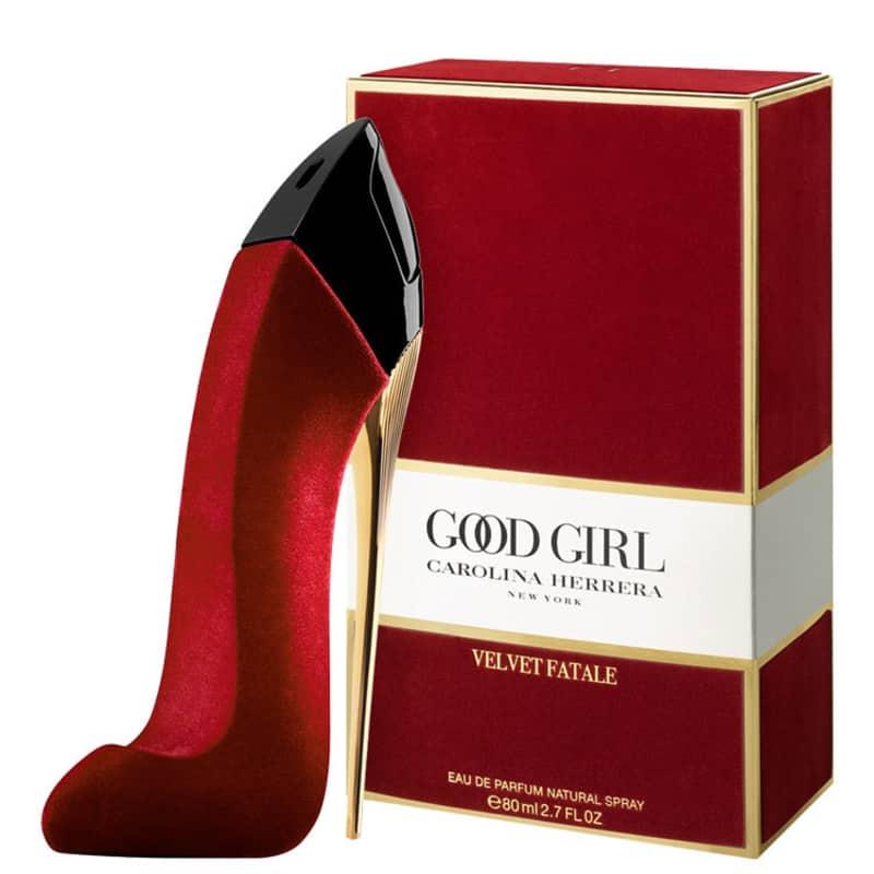 Good Girl Velvet Fatale Carolina Herrera Eau de Parfum - Perfume Feminino 80ml