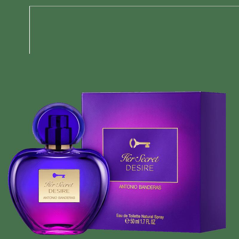 Her Secret Desire Antonio Banderas Eau de Toilette - Perfume Feminino 50ml