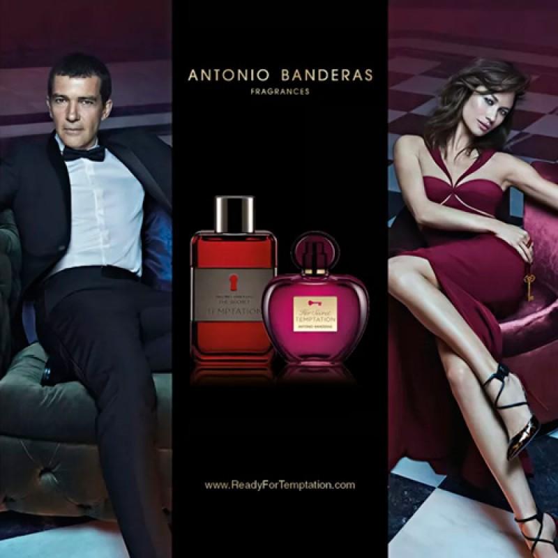 Her Secret Temptation Antonio Banderas Eau de Toilette - Perfume Feminino 50ml
