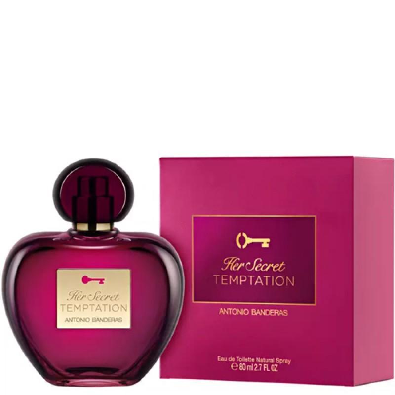 Her Secret Temptation Antonio Banderas Eau de Toilette - Perfume Feminino 80ml