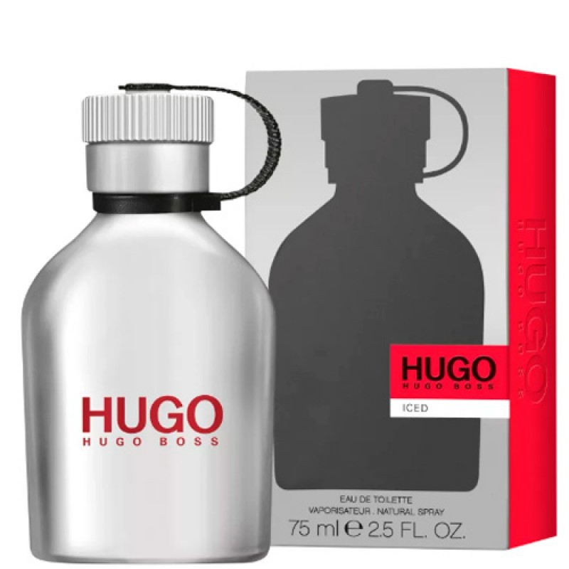 Hugo Iced Hugo Boss Eau de Toilette - Perfume Masculino 75ml