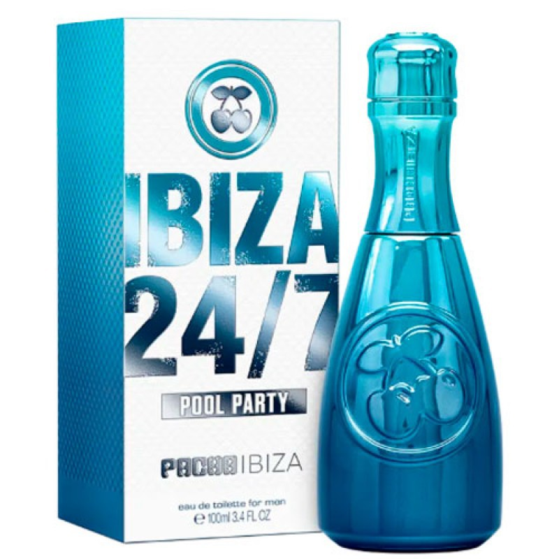 Ibiza 24/7 Pool Party for Him Pacha Ibiza Eau de Toilette - Perfume Masculino 80ml