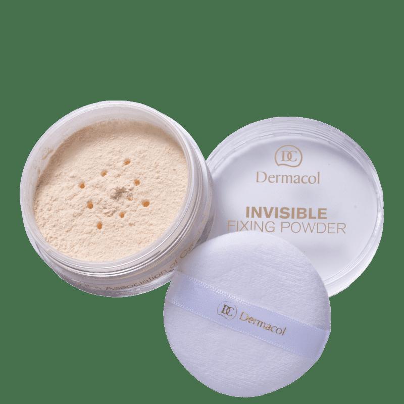Invisible Fixing Powder Dermacol - Pó Translúcido 13,5g
