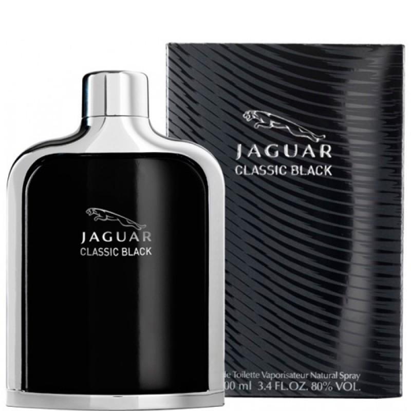 Jaguar Classic Black Eau de Toilette Perfume Masculino 100ml