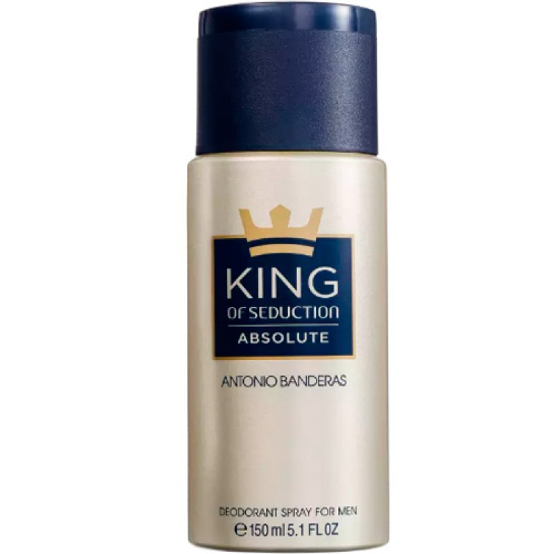 King of Seduction Absolute Antonio Banderas - Desodorante Masculino 150ml