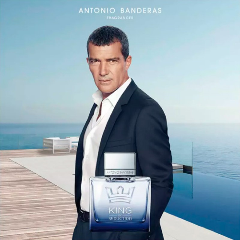 King of Seduction Antonio Banderas Eau de Toilette - Perfume Masculino 30ml